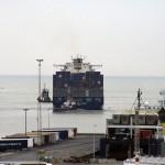Containerschip Zeebrugge